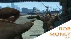 Rob Money Mod BETA для GTA 4