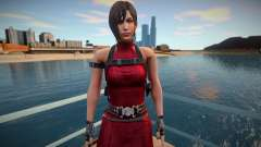 Ada Wong red short dress для GTA San Andreas
