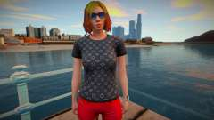 Girl 7 from GTA Online для GTA San Andreas