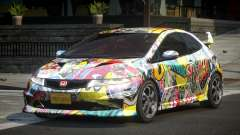Honda Civic PSI-U L5 для GTA 4