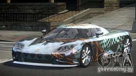 Koenigsegg CCX GST-R S6 для GTA 4