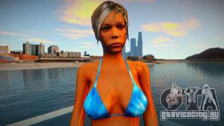 Девушка в бикини для GTA San Andreas