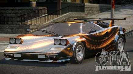 Lamborghini Countach U-Style S6 для GTA 4