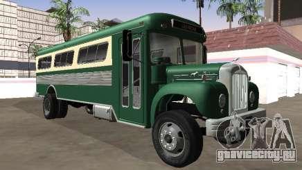 Mack B-61 1953 Coach для GTA San Andreas
