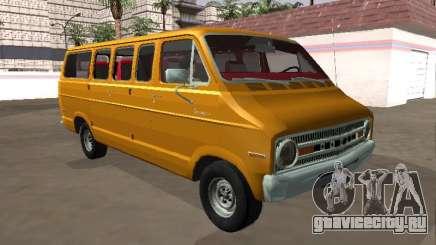 Dodge Sportsman B200 1972 Bus v2 для GTA San Andreas