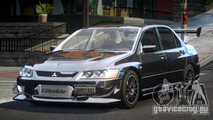 Mitsubishi Lancer Evolution VIII GST-R для GTA 4