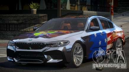 BMW M5 Competition xDrive AT S6 для GTA 4