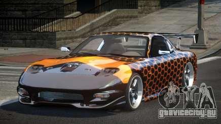 Mazda RX-7 U-Style S1 для GTA 4