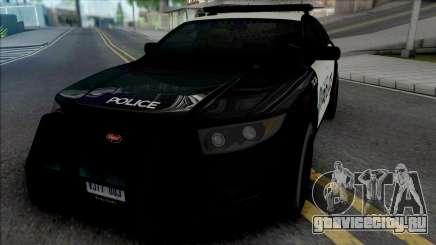 Vapid Torrence Police San Fierro для GTA San Andreas