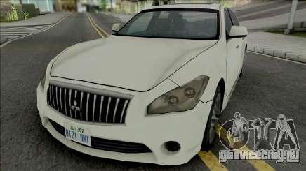 Mitsubishi Dignity 2012 (SA Style) для GTA San Andreas