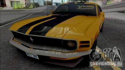 Ford Mustang Boss 302 1970 для GTA San Andreas