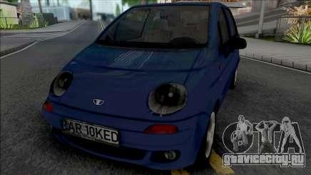 Daewoo Matiz (Romanian Plate) для GTA San Andreas