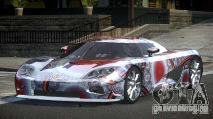 Koenigsegg CCX GST-R S4 для GTA 4