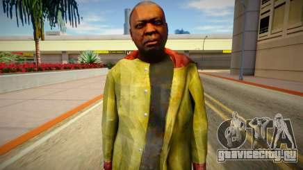 Бомж из GTA 5 v4 для GTA San Andreas