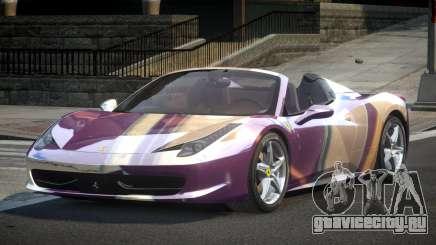 Ferrari 458 BS-S S10 для GTA 4