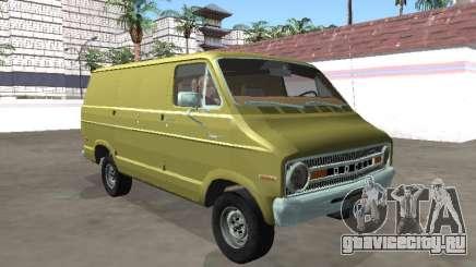 Dodge Tradesman 200 1972 Van для GTA San Andreas