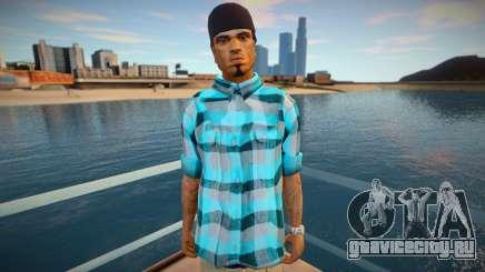 Cesar shirt style для GTA San Andreas
