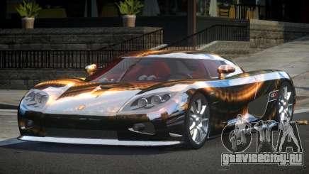 Koenigsegg CCX GST-R S3 для GTA 4
