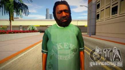Бомж из GTA 5 v5 для GTA San Andreas