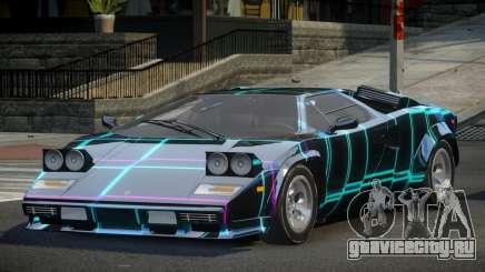 Lamborghini Countach U-Style S1 для GTA 4