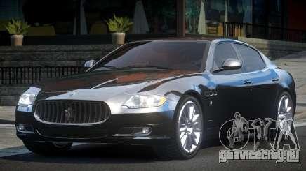 Maserati Quattroporte GS V1.0 для GTA 4