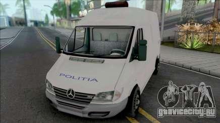 Mercedes-Benz Sprinter Politia для GTA San Andreas