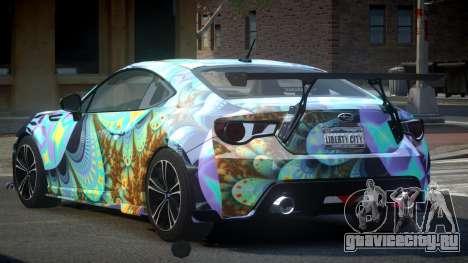 Subaru BRZ SP-U S7 для GTA 4