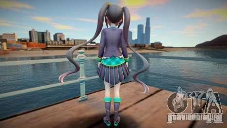 Neptunia Virtual Stars GTA SA skin v3 для GTA San Andreas