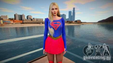 Helena Super Girl для GTA San Andreas