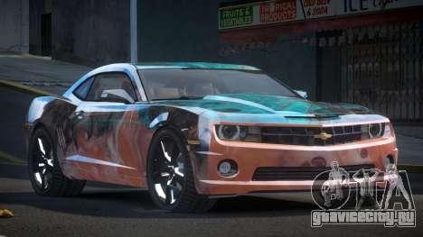 Chevrolet Camaro BS-U S3 для GTA 4
