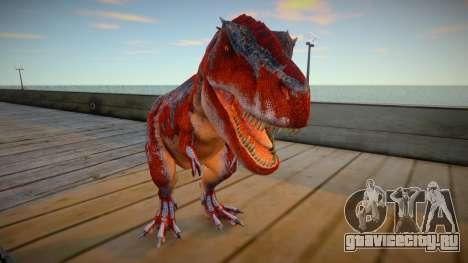 T-Rex skin для GTA San Andreas