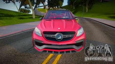 Mercedes-Benz GLE 63 TopCar для GTA San Andreas