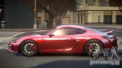 Porsche 718 Cayman GT4 для GTA 4