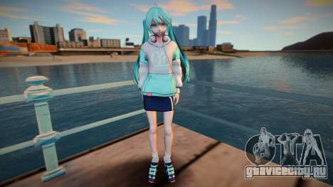 Music Cafe Miku Hatsune для GTA San Andreas