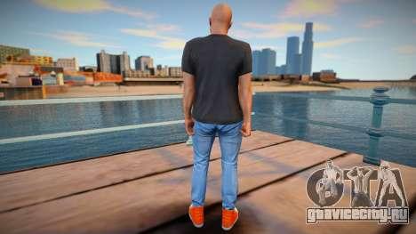 Лысый чувак из GTA Online для GTA San Andreas