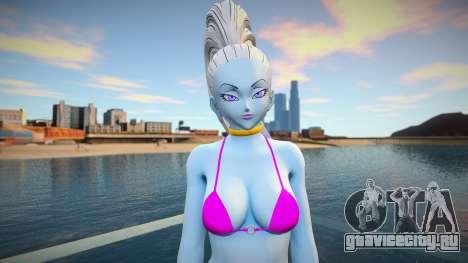 Vados (Bikini) from Dragon Ball для GTA San Andreas