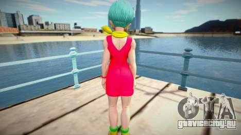 Bulma Brief from Dragon Ball Xenoverse 2 для GTA San Andreas