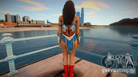 Wonder Woman (good skin) для GTA San Andreas