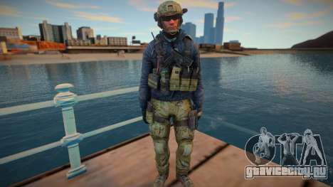 Sandman из игры CoD MW3 для GTA San Andreas