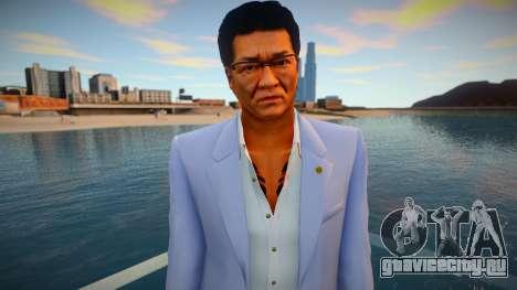 Daisaku Kuze - Yakuza 0 для GTA San Andreas