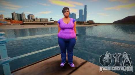 New CJ Girlfriends 2021 - Katie для GTA San Andreas