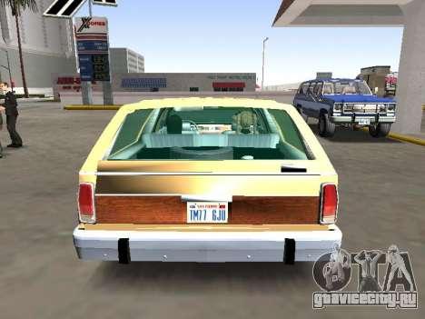 Ford LTD Crown Victoria Station Wagon 1986 для GTA San Andreas