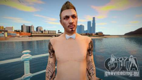 Dude 4 from DLC Lowriders 2015 GTA Online для GTA San Andreas