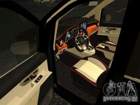 Mercedes-Benz Bluetec V250 для GTA San Andreas