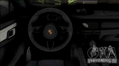 Porsche Macan Turbo Blue для GTA San Andreas