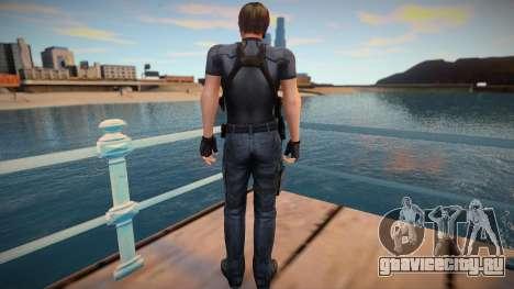 Leon Re4 Mod для GTA San Andreas
