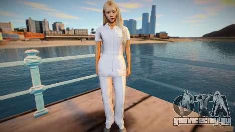 Japan Nurse для GTA San Andreas