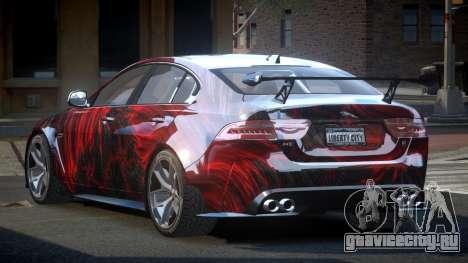 Jaguar XE GST S10 для GTA 4