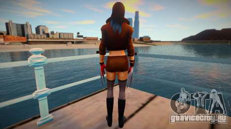X-23 skin для GTA San Andreas