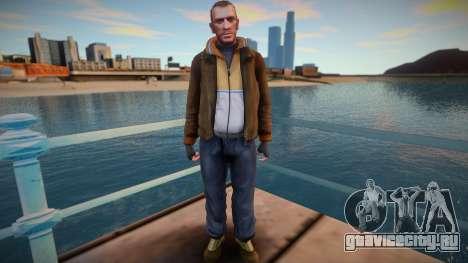Niko Bellic - GTA IV для GTA San Andreas